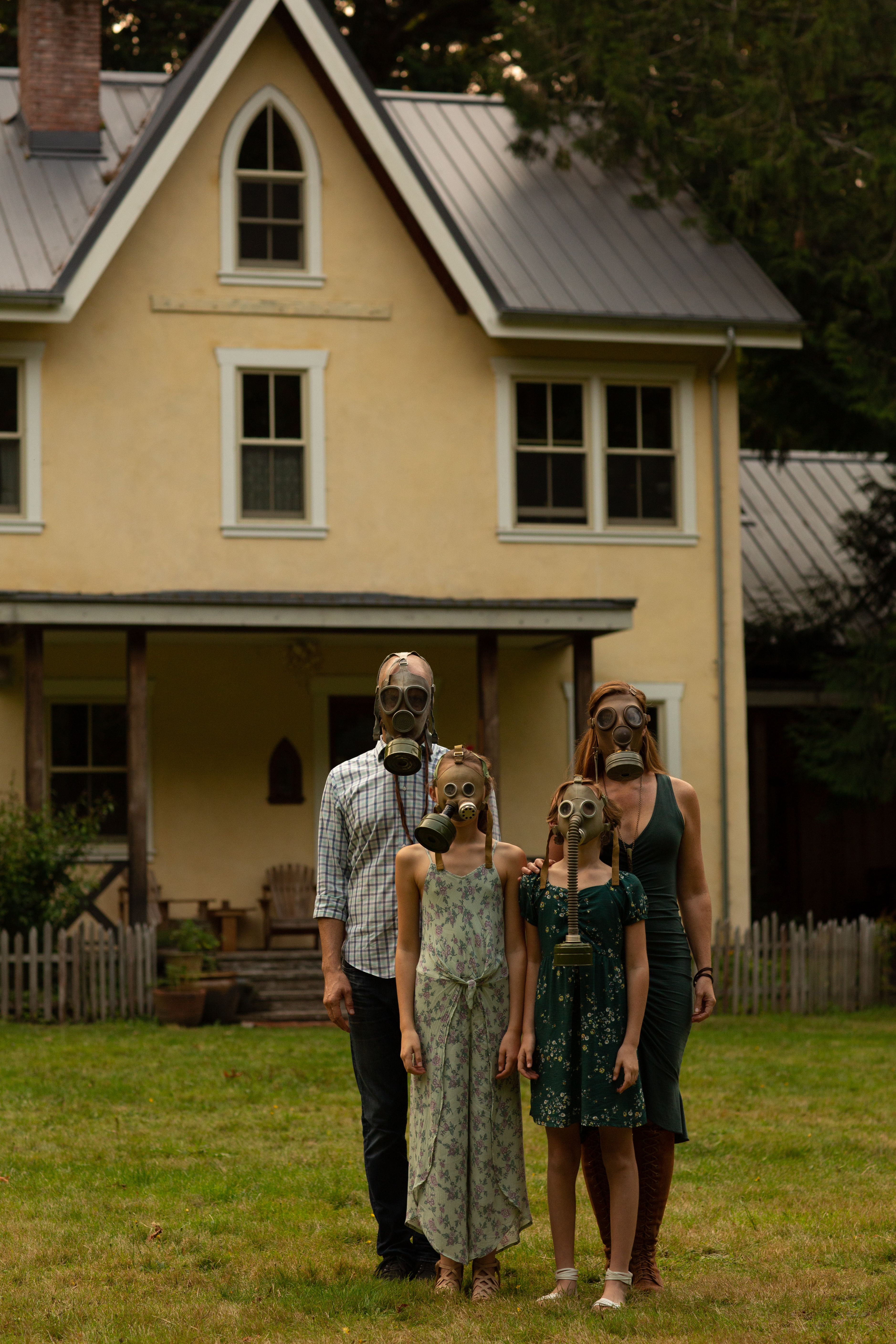 Youngblood Family - 2020 American Gothic