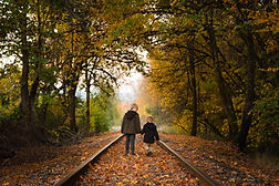 On The Tracks - Hagg Lake - Oregon - 201