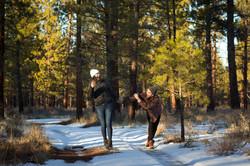 Adam & Hope - Deschutes - Oregon -  Nila