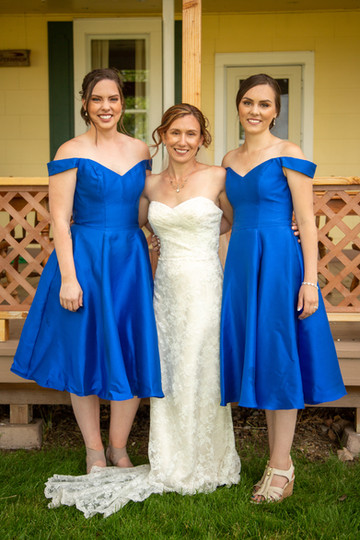 Jenny and Spenser - Wedding - Sisters  o