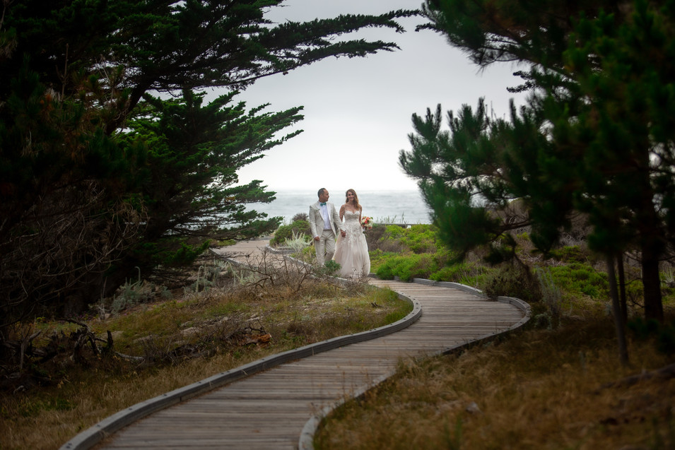 Katie and Hai - Monterey California - Co