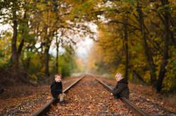 On The Tracks - Hagg Lake - Oregon - 201