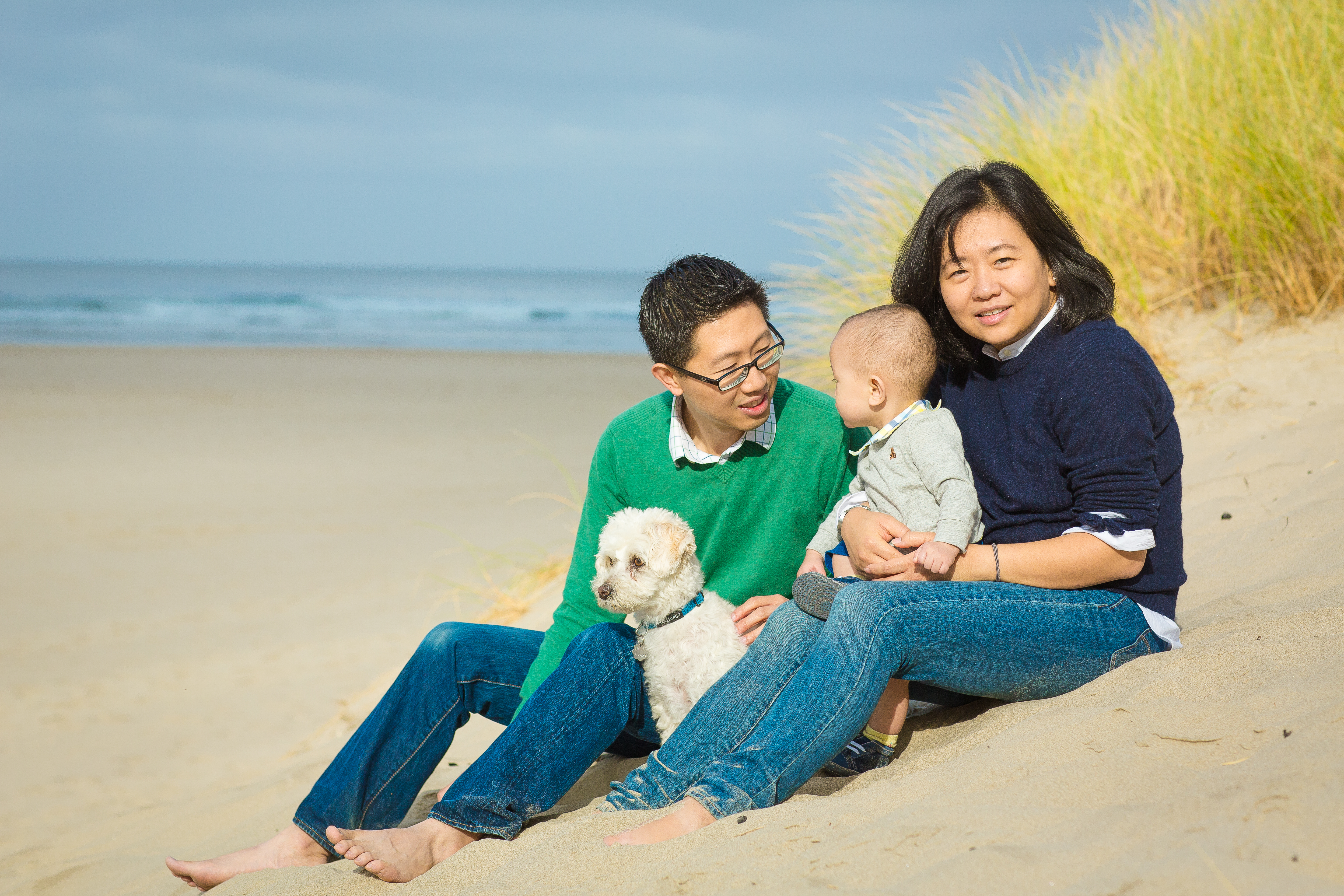 Enochs family session - Ecola State Park