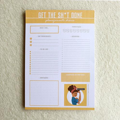 Desk Planner Diário | We Can Do It