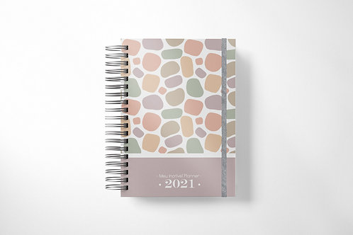 Meu Incrível Planner 2021 | Pedriscos (+Nome!)