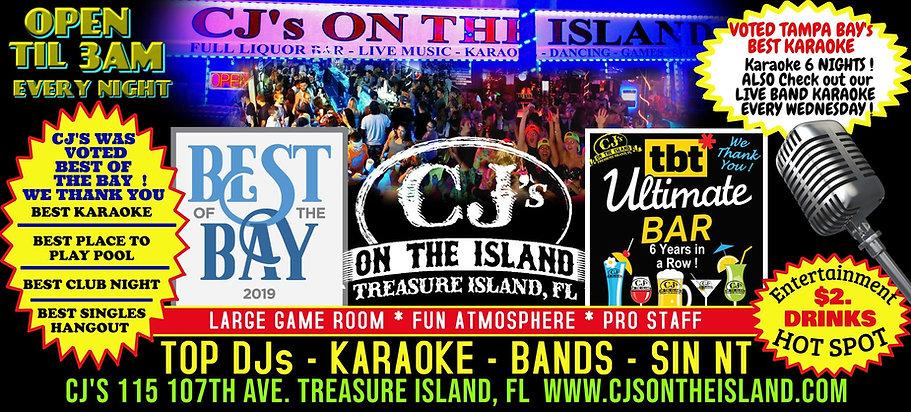 CJ's On The Island Treasure Island, FL T