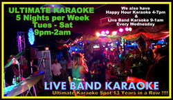 Best Live Band Karaoke at CJ's
