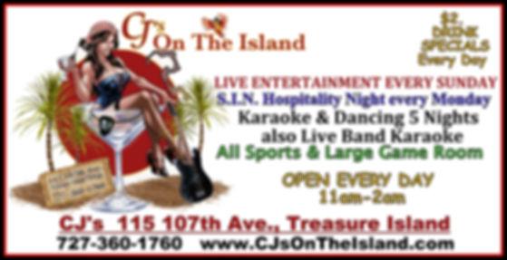 CJ's On The Island Entertainment