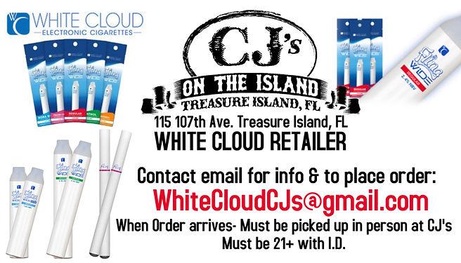 White Cloud E cigg Vape Whitecloud