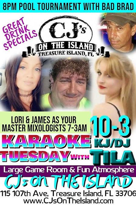 CJ's On The Island Karaoke Treasure Isla