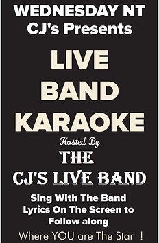 Karaoke at CJ's On The Island, Treasure Island, FL