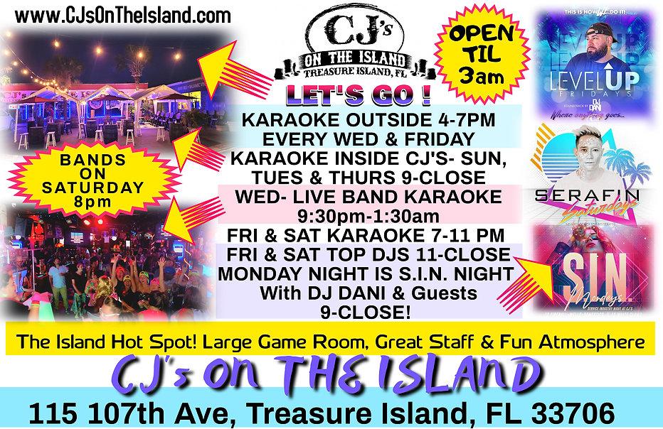CJ's On The Island Karaoke
