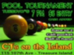 CJ's Pool Tournament