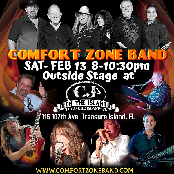 CZ band Feb 13 at cjs On The Island