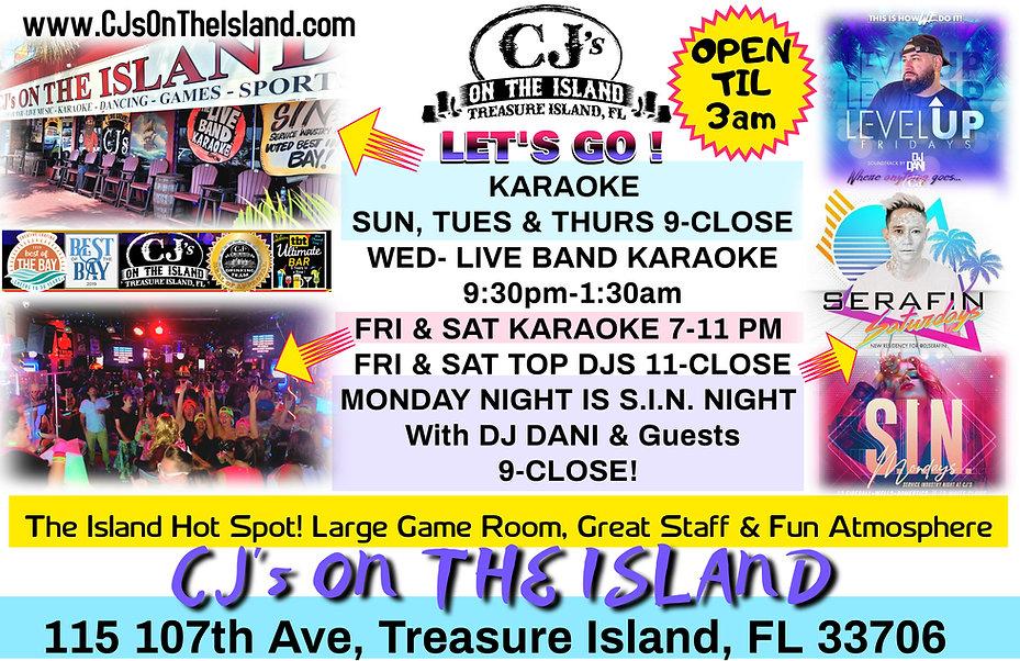 CJ's On The Island Treasure Island, FL Karaoke Bands DJ Dancing.jpg