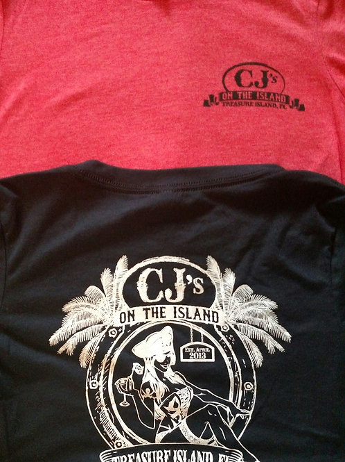 CJ's Men's soft fitted T shirt