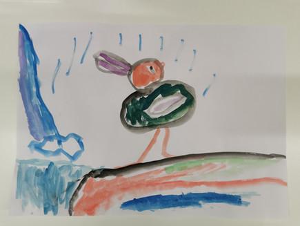 Yoel duck in the rain.jpg