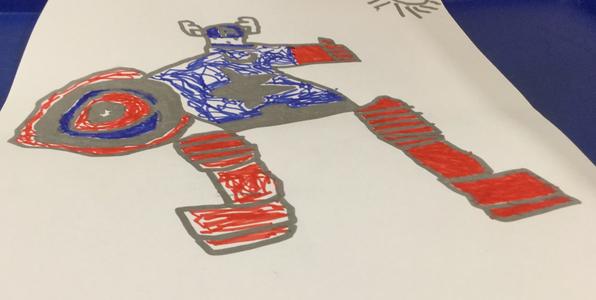Captain America By Jaxon