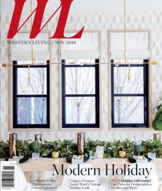Western Living November 2018