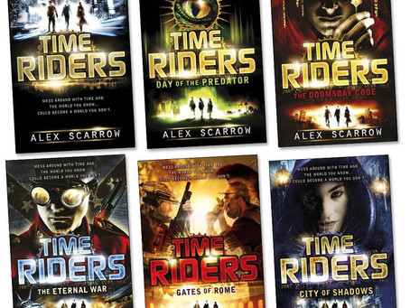 Fiction Fun 1: TimeRiders Series By Alex Scarrow
