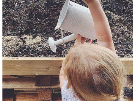 Growing in the Garden with Back to the Garden Childcare in Broadheath, Altrincham