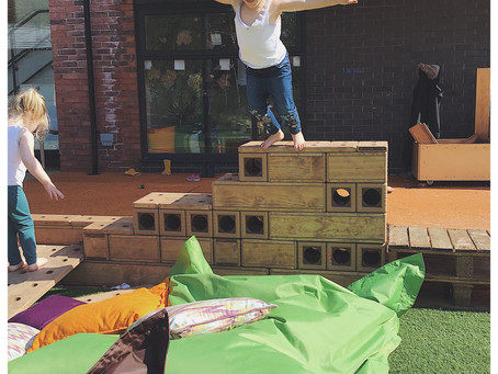 Back to the Garden Childcare in Broadheath, Altrincham: Our 1st birthday open-day fun!