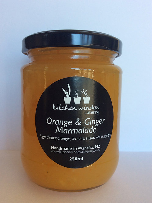 250ml Orange & Ginger Marmalade