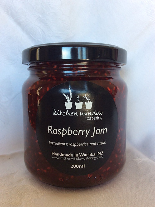 200ml Raspberry Jam