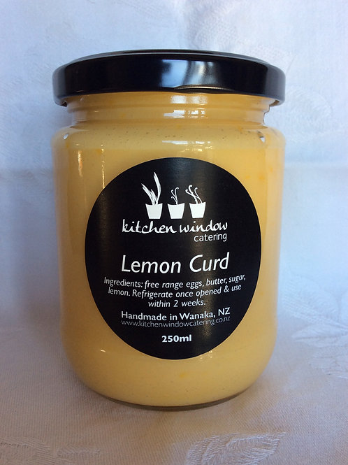 250ml Lemon Curd