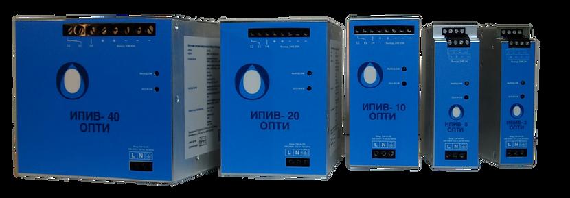 Источники питания  220V AC/24V DC  импульсные виброустойчивые  ИПИВ–ОПТИ