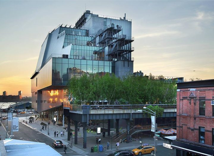 Whitney Museum of American Art - Photograph by Ed Lederman