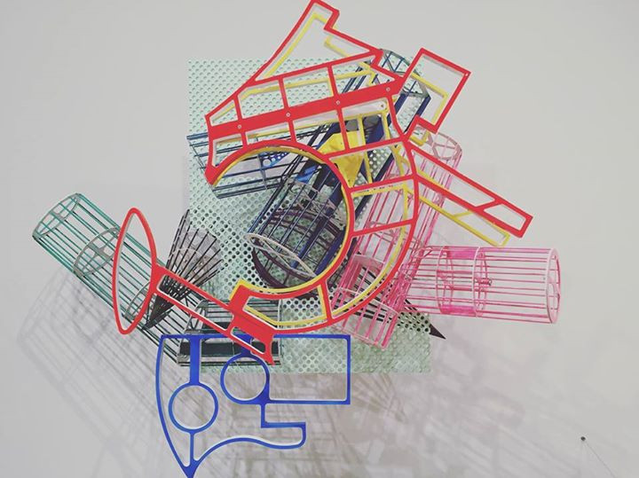 FRANK STELLA, Whitney Museum of American Art, NYC