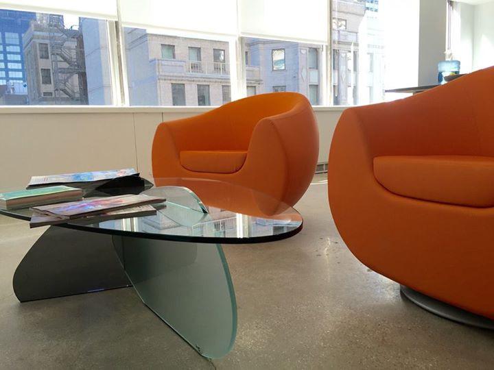 KLOUD CHAIRS & KAT TABLE, DESIGNED BY KARIM RASHID