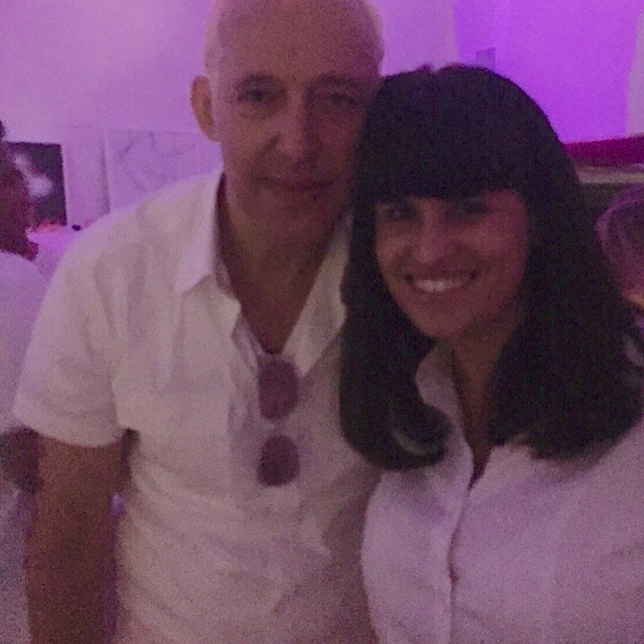 Karim Rashid & I at his birthday party