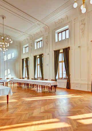 Velký sál v Hotelu Chmelnice. | Hotel Chmelnice Napajedla