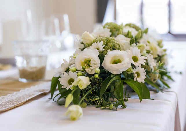 Hotel Chmelnice Napajedla 2. - květinová výzdoba