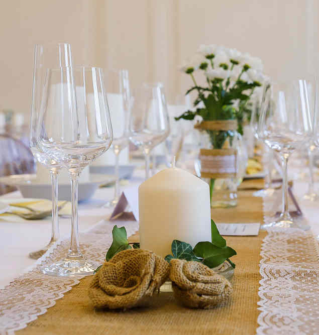 Hotel Chmelnice Napajedla 1. - svatebni tabule, výzdoba