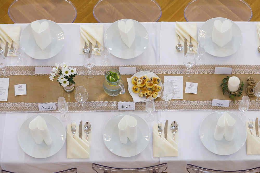Hotel Chmelnice Napajedla 1. - svatebni tabule