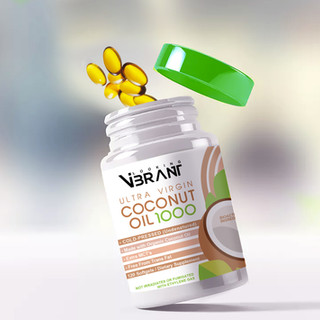 Coconut Oil 1000 By Looking Vibrant