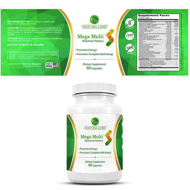 Mega Multi by Natura Life