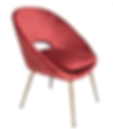 RED VELVET BAGEL CHAIR CBS003.png