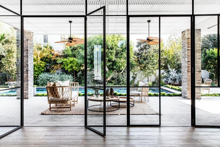 Teak Daybed & Loung Chairs Interior Design - Nirit Frenkel