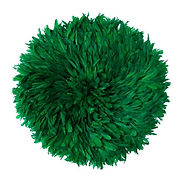 GREEN FEATHER WALL HANGING ACS027.jpg