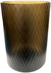 SMOKE GLASS VASE - GLI264 28d40h.jpg