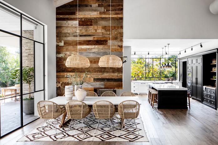 Indoor & Outdoor Rattan Dining Chairs. Interior Design - Nirit Frenkel