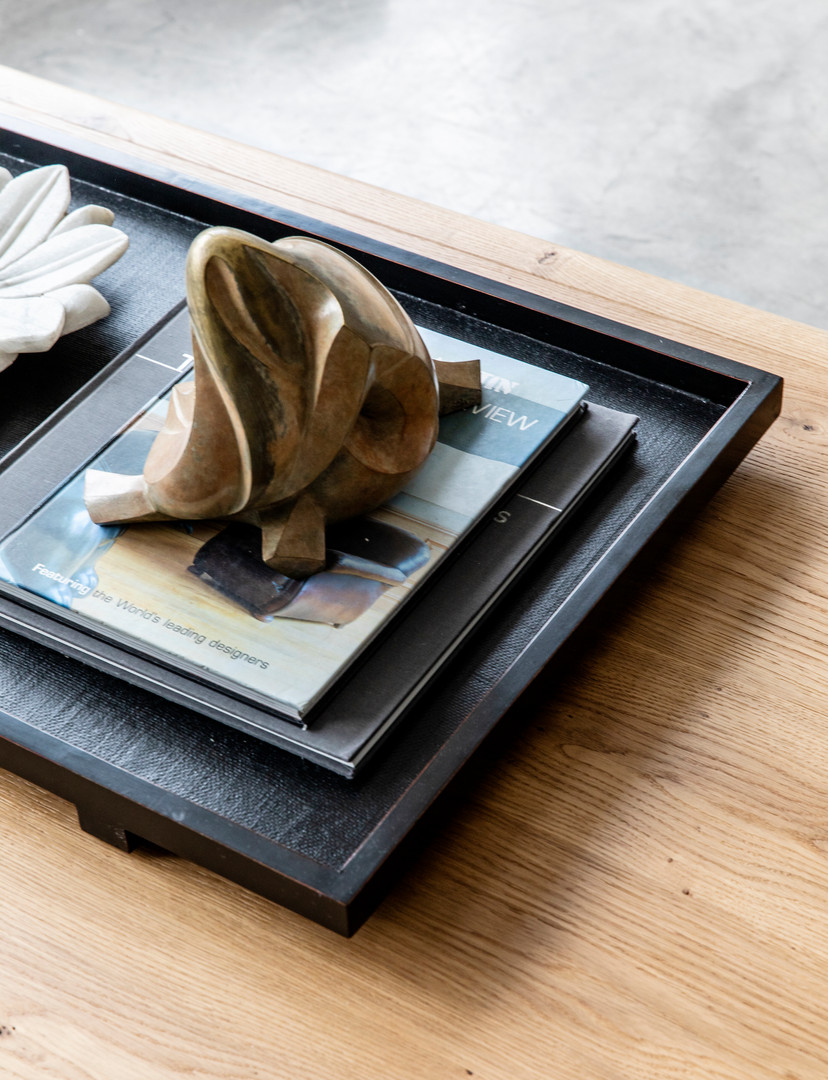 Black Wood Table Try