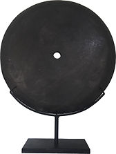 BLACK STONE DISK LARGE ACS004 50d63h.jpg