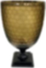SMOKE HURRICANE GLASS VASE- GLI2074 32d4
