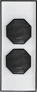 BLACK GEOMETRIC BABMOO WALL HANGING BWH0