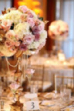 Bonic centre de taula de casament